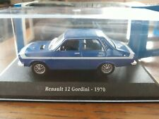 RENAULT 12 GORDINI 1/43 EDITIONS ATLAS