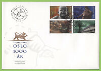 Norway 2000 Millenary of Oslo City set on First Day Cover