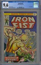 Iron Fist #4 CGC 9.6 NM+ Wp Vs. Radion Marvel Comics 1976 Kane Cvr & Byrne Art