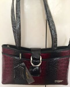 Serenade Red Leather Shoulder Bag. New With Tags and dust bag.