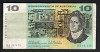 Australia R-302. (1967) Ten Dollars..  Coombs/Randall..  Fine+
