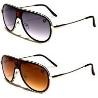 80's Mens Womens Retro Vintage Classic Fashion Designer Aviator Sunglasses Black