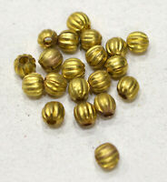 Beads Gold Coil Spring Tubes 22mm
