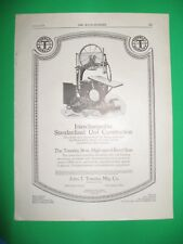 1923 WW Ads John T TOWSLEY High-Speed Band Saw American Saw Mill Hackettstown NJ