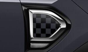 MINI F60 Black/Grey Chequered Side Scuttles (RRP £66) 51132413355