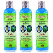 3 x JINDA herbal mee leaf ancient natural formula helps hair growth conditioner