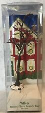 Dept 56 Village Accessories ~ FROSTED BARE BRANCH TREE (LIT) ~ #5243-4 ~ IN BOX