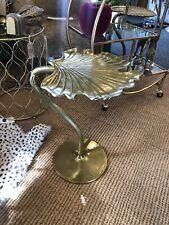 Gilded Gold Finish Ginkgo Leaf Side Table 55 cm High x 44 cm Wide x 41 cm Deep
