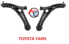 TOYOTA YARIS  2 x FRONT LOWER WISHBONE SUSPENSION ARMS 1999-05