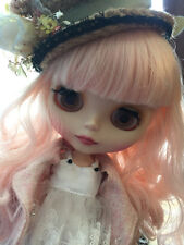 "12"" Nude Blythe Doll from Factory pink wave long hair free shipping new sale hot"