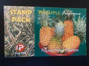 PAPUA NEW GUINEA STAMP PACK FULL SET 2011 PINEAPPLE