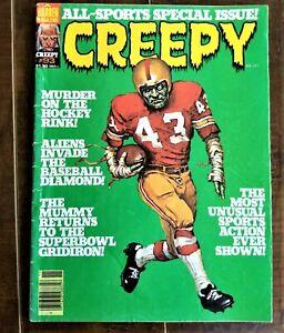 CREEPY #93 - Nov 1977 - Horror Comic Warren Magazine - ALL SPORTS ISSUE!