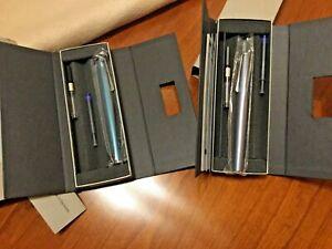 ***START USD 88!*** 2 x LAMY Studio pen, special colors! Aqua & Glacier ❗️