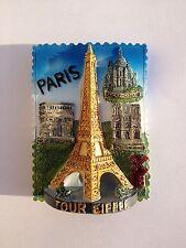 MAGNET PARIS FRANCE LA  TOUR EIFFEL TOWER PARIS PARIGHI MONUMENTS SOUVENIRS FR