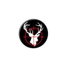 Deer Buck Hunting - Metal Lapel Hat Pin Tie Tack Pinback