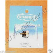 Shure N75-6 Compatible Turntable Stylus. Stanfield Part # D414SR