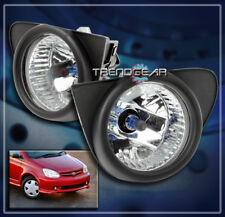 2003 2004 2005 TOYOTA ECHO BUMPER DRIVING FOG LIGHT LAMP CHROME W/BEZEL+HARNESS