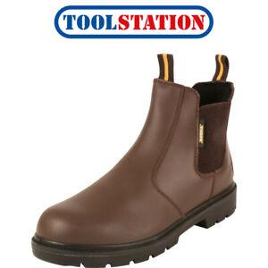 Maverick Slider Safety Dealer Boots Brown Size 11