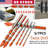 2019 Triangular-overlord Handle Multifunctional Drill Bits ORIGINAL US STOCK