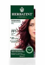 Herbatint Herbes Naturel Cheveux Couleur Teinture Henné Rouge FF1 150ml -