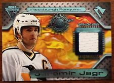 2000-01 Titanium Game Gear JERSEY Pittsburgh Penguins Jaromir Jagr Card #133