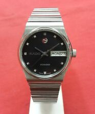 Vintage rado voyager automatic swiss made working wrist watch 100%authentic.O027
