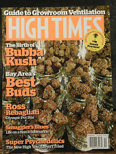 High Times Magazine - October 2013 - Birth Place of Bubba Kush - Bay Area Best