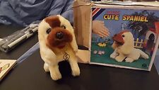 Vintage Sonic Cute Spaniel  He Walks He Barks Sits up and Begs-New