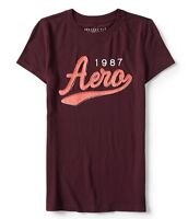 Aeropostale Women's Tee Shirt Embroidered Level Two Aero 1987