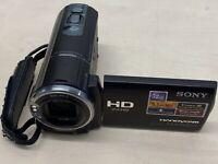 Sony HDR-CX360 HD NTSC Camcorder video camera w/ 32GB Internal Memory + SD SLOT