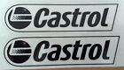 LOT DE 2 AUTOCOLLANTS CASTROL STICKERS MOTO HUILE STICKER AUTOCOLLANT AU CHOIX