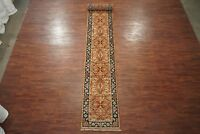 3X19 Mahal Runner Hand-Knotted & Vegetable Dyed Wool Rug (2.7 x 19.5)