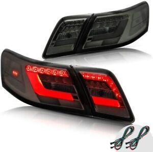 Smoked LED Tail Lights For 2006-2011 Toyota Camry XV40 Gen Sedan Rear Lamp