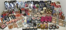 Lot of 100 cosmetics L'oreal Maybelline NYC Rimmel & Others NO NAIL POLISH