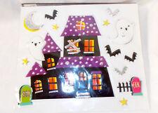 Shopko Haunted Halloween Ghost Tombstones Bling Clings Cling Window Mirror Deco