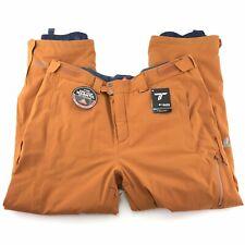 Columbia Titanium Men's Snow Rival Orange Waterproof Insulated Snow Pants Sz XXL