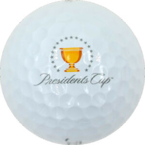 PRESIDENTS CUP Logo (Titleist Pro V1) GOLF BALL