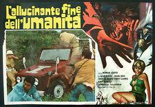 CINEMA-fotobusta L'ALLUCINANTE FINE DELL'UMANITA' rogers, garner, NORMAN COOPER