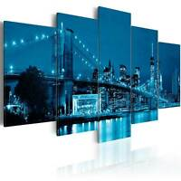 Non-woven Canvas Print New York Framed Wall Art Picture Photo Image 030202-13