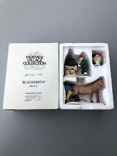 "Heritage Village Collection/ Dept 56 / "" Blacksmith "" Set Of 3"