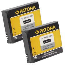 2x Batteria Patona 3,7V 1100mAh per GoPro HD HERO 960,HD HERO NAKED