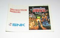 Mechanized Attack (Instruction Manual Only) Nintendo NES