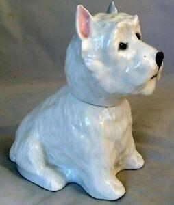 ROYAL ADDERLY WEST HIGHLAND WHITE TERRIER DOG LIQUOR BOTTLE- 1970