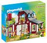 Barn W/ Silo Farm Animal Toy Set Indoor/Outdoor Children Toys Stuff Garden Yard