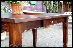 Esstisch Massivholz Landhausstil Esszimmer Küchentisch 220 cm M01 antik Neu