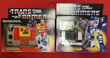 Hasbro Transformers lot Soundwave w/ Buzzsaw and Blaster G1 reissue Walmart excl