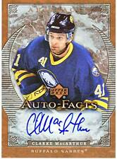 CLARKE MACARTHUR 07-08 UD Artifacts Auto-Facts AUTO