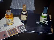 3 SUNTORY Whisky MINIATURE 5ML HIBIKI 17 YAMAZAKI 12 HAKUSHU 12+CATALOGUE MUSEM