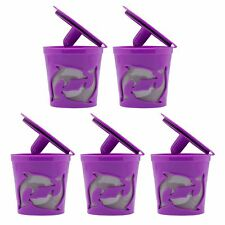 5-Pack Keurig Hot Plus 2.0 1.0 Reusable K-cup Coffee Filter Kcup Pods Refillable