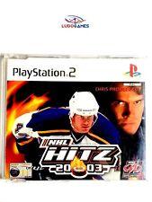 NHL Hitz 2003 PAL/EUR PS2 Promo Retro Playstation Videojuego Videogame Mint St